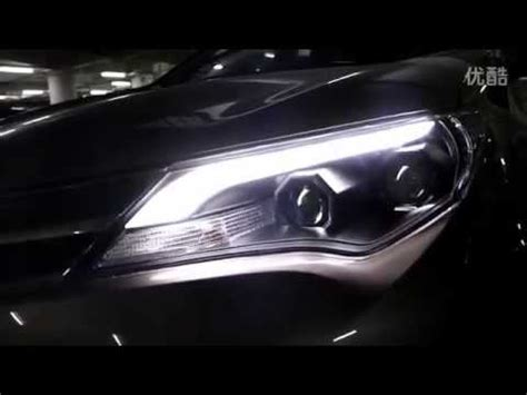 2013 2014 toyota rav4 headlight with led drl and bi xenon