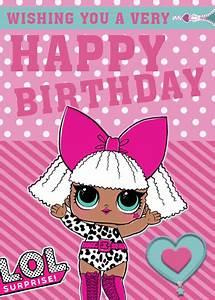 Lol Dolls Custom Birthday Card Schedule To Send Now At