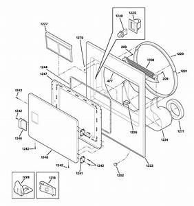 Hotpoint Electric Dryer Cabinet  U0026 Drum Parts
