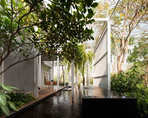 nature interior design bangkok house with a unique take on privacy