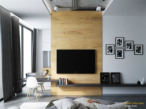 Tv In Bedroom Design Ideas by Contemporary And Creative Tv Wall Design Ideas