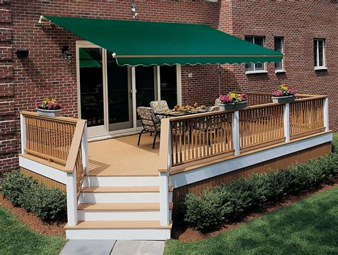 ft sunsetter outdoor retractable motorized awning  sunsetter awnings ebay