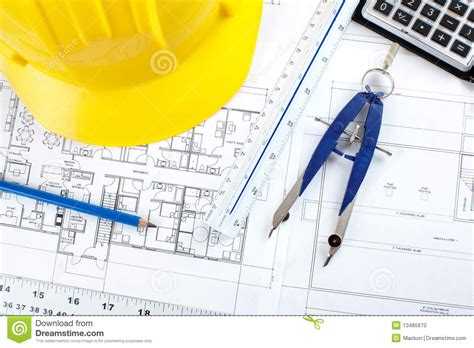 design house plans construction drawing stock photo image 13485670