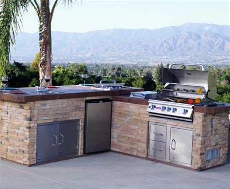 Prefab Bar by Prefab Outdoor Kitchens Patio Kitchen Island Outdoor