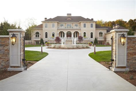Outdoor Brick Patio by Driveway Entrance Gates Exterior Traditional With Entry
