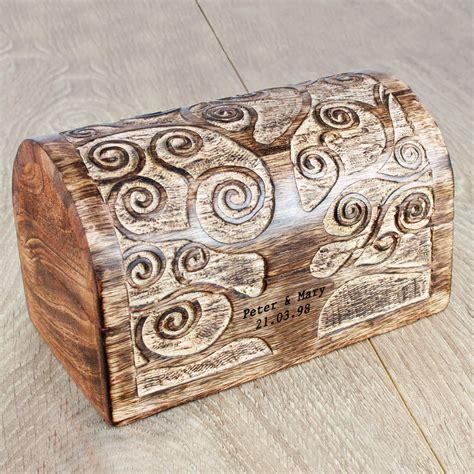 lets grow   tree wooden box treat republic