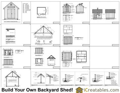 10x12 shed material list 10x12 traditional garden shed plans