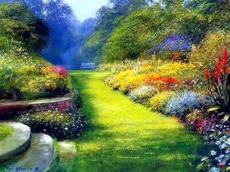 english gardens wallpaper wallpapersafari