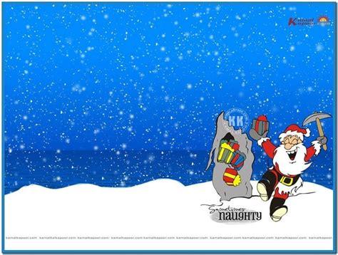 Microsoft Windows 7 Christmas Screensaver Merry