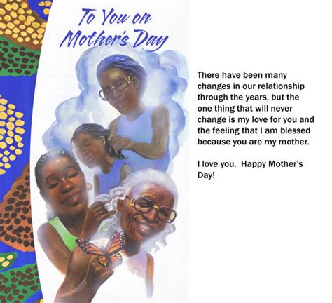 african american greeting cardsmothers day memories