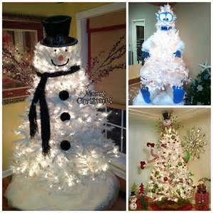 clever white tree decorating ideas crafty morning