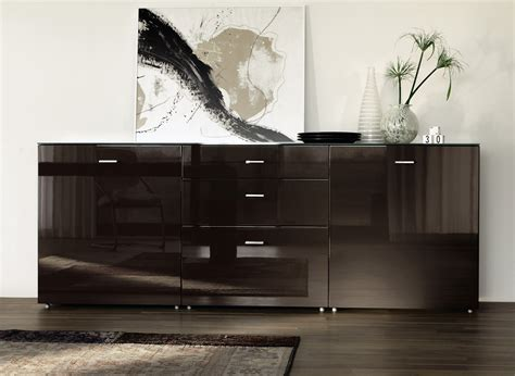 Black Shiny Bedroom Furniture   Raya Furniture