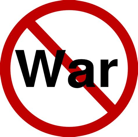 War Clipart No War Clip At Clker Vector Clip