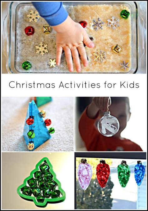 christmas activities crafts  kids