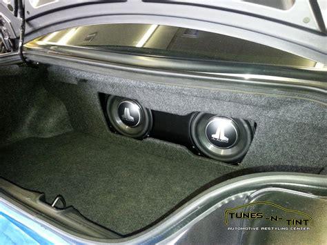ford mustang custom  enclosure tunes  tint