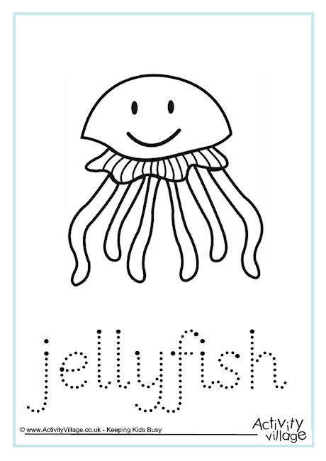 jellyfish word tracing