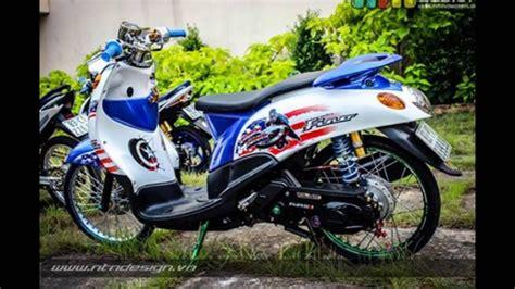 Vixion Thailook Style by Modifikasi Yamaha Fino Thailook Style Mothai Thailand