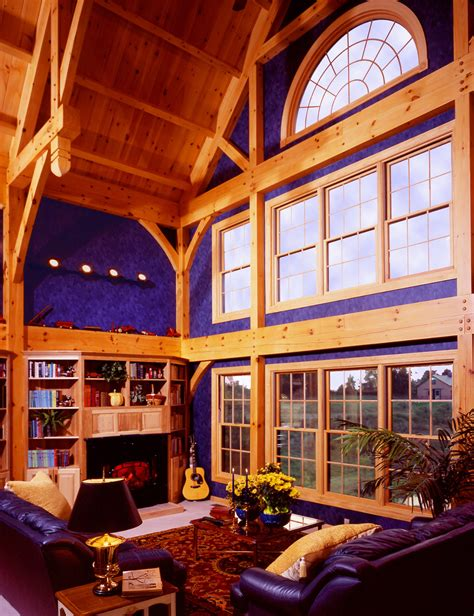 Timberframe Way, by Dick Pirozzolo covers this unique home ...