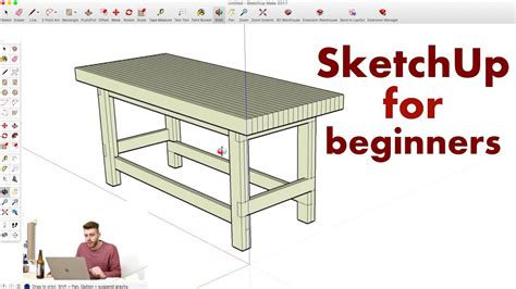 model  workbench  sketchup woodworking youtube