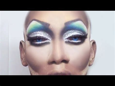 drag queen eye makeup minute  day  youtube