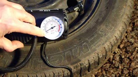 How To Use Air Compressor 12v And Fill The Tyre.