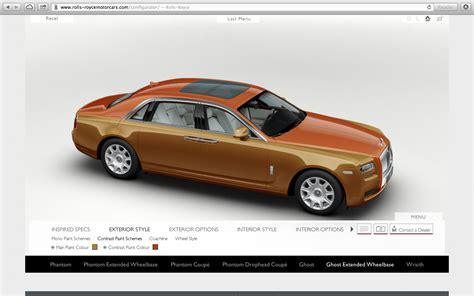Rolls Royce Configurator by Rolls Royce Configurator Database