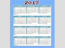 Calendario y días festivos en Colombia 2017 Tierra