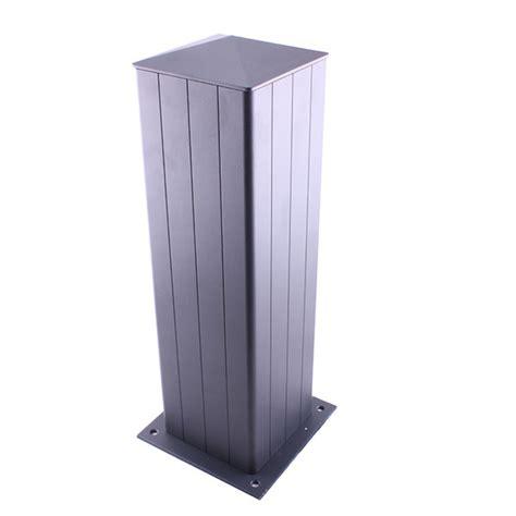 poteau aluminium pour portail aluminium sur mesure pi 232 ces d 233 tach 233 es