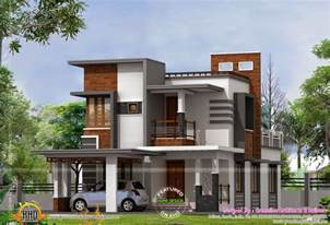 contemporary home designs low cost contemporary house kerala home design and floor plans