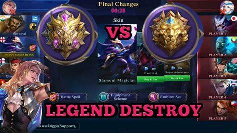 mythic mobile legend mythic vs legend mobile legend best play q to