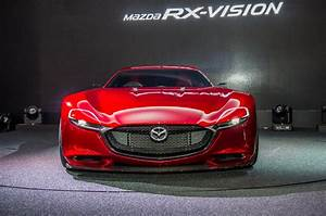 Mazda RX-Vision rotary-engined sports car concept revealed ...