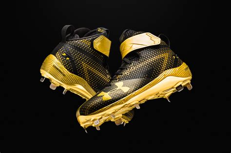 armour unveils signature cleat  mlbs bryce