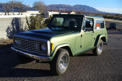 1973 jeep commando seller of classic cars 1973 jeep commando green green
