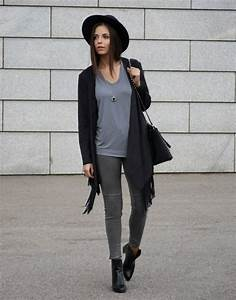 Grey Knitwear Grey Layers Grey Outfits... Grey Is A Trend - Just The Design