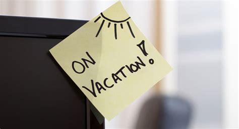 message absence bureau rédiger un e mail d absence avant départ en vacances