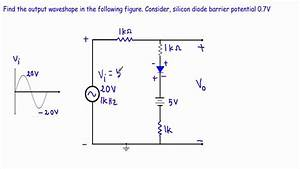 Diode Clipper Circuit Analysis