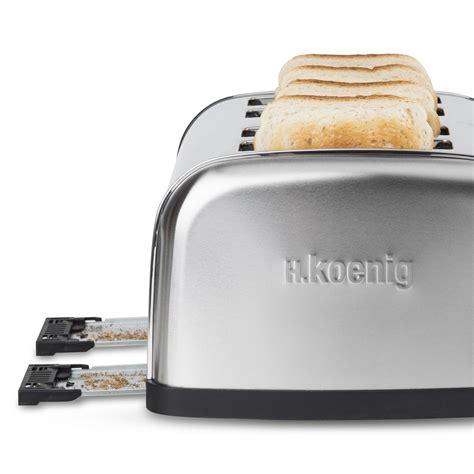 tostapane 4 toast tostapane a 4 pinze koenig toast inox ideale per