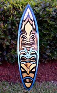 Tiki Surfboard Art