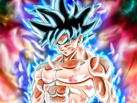 desktop wallpaper goku anime anger dragon ball super