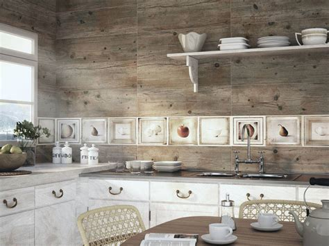 carreaux imitation planche de bois brut salle de bain d16