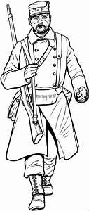Baertiger Soldat Ausmalbild Malvorlage Schlachten