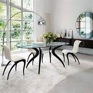Retro Esstisch Stühle : glass furniture esstisch und st hle weiss ~ Markanthonyermac.com Haus und Dekorationen