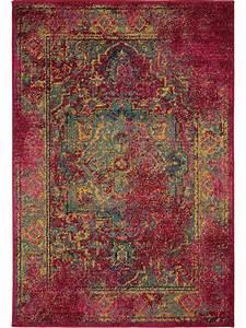 Teppich Kaufen Online : teppich liguria vintage rot vintage teppiche ~ Frokenaadalensverden.com Haus und Dekorationen