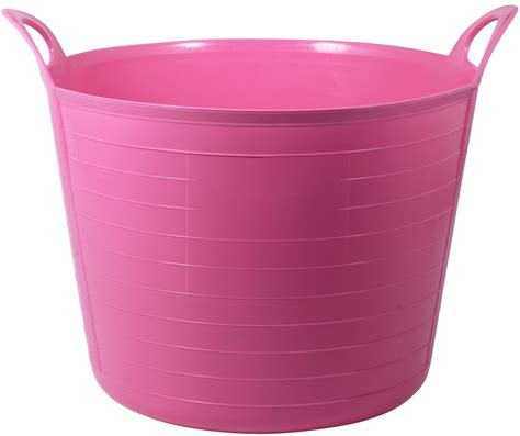 b and q tub large pink flexi tub departments diy at b q
