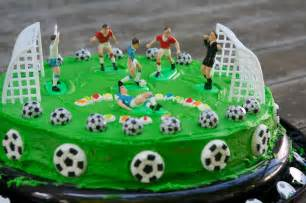 Soccer Birthday Party Cake