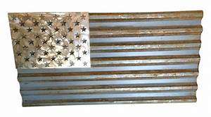industrial reclaimed metal american flag made to scale With kitchen cabinet trends 2018 combined with metal american flag wall art