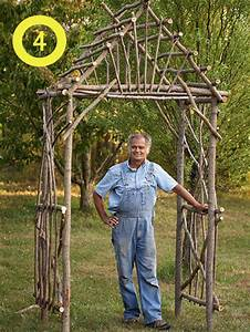 How to build an arbor out of branches