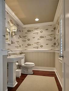 33 wainscoting ideas with pros and cons digsdigs for Water resistant wainscoting for bathroom