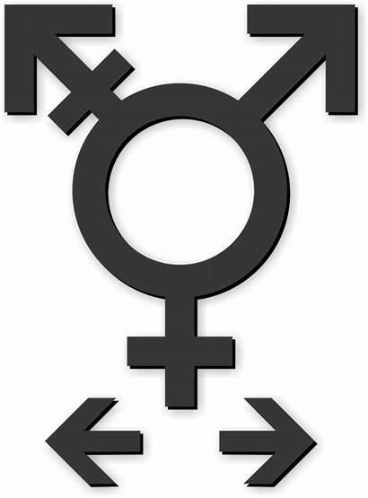 Neutral Gender Symbol Restroom Cut Kit Inclusive