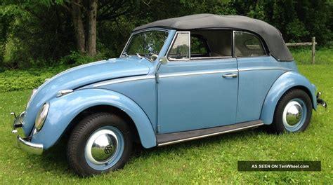 old volkswagen 1960 vw volkswagen beetle convertible classic